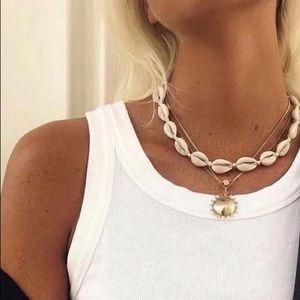 Trendy Shell Choker Necklace